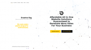 creative cog new website