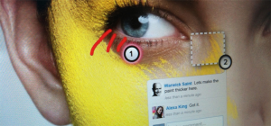 marqueed screenshot