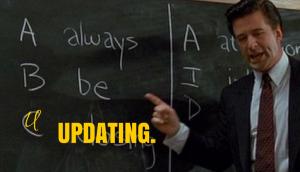 always be updating